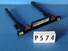 (P574) playmobil piéce vehicule immatriculation remorque noir bâteau