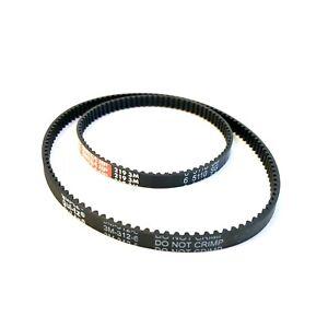 Sebo Automatic X Toothed Drive Belt Kit (Pair) - X1 X1.1 X4 X5 X7 X8 - 2x Belts
