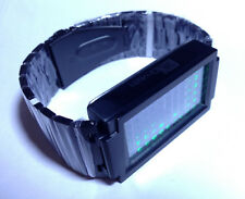 TOKYOFLASH SEAHOPE ELEENO DUAL TOUCH BLACK ORNG/GRN LED WATCH, COOL, FUTURISTIC