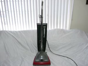 Electrolux Commercial Lightweight Upright Vacuum Bag-Style Gray/Red SC679