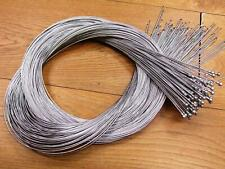 BULK DEAL, 100 INNER BRAKE CABLES WITH PEAR ENDS, ROAD BIKE ,  2M X 1.5mm