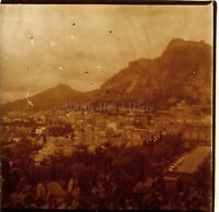 ITALIE Taormine Hotel Timeo c1910, Photo Stereo Vintage Plaque Verre VR4L7