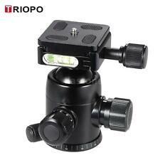 TRIOPO Tripod Ball Head 360° Panorama Head W/ Built-in Double Spirit Level