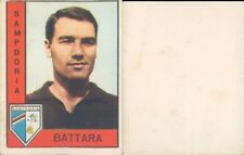 R@RA FIGURINA CALCIATORI PANINI 1962/63-SAMPDORIA,BATTARA-NUOVA,MAI ATTACCATA