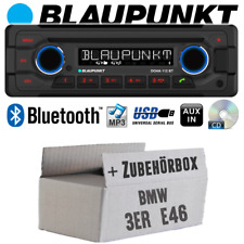Autoradio für BMW 3er E46 Radio Blaupunkt Doha Bluetooth CD MP3 USB Einbauset
