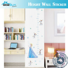 Frozen Elsa Anna Wall Sticker Removable Broken Wall Kid Girl Room Decal Height A