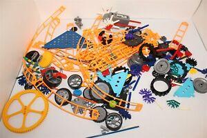 K'nex Bulk Lot Of Building Toys Knex 800 Grams