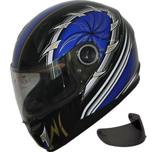 Motorcycle Full Face Sports Helmet  F16 +Free Tinted Shields
