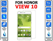 2x Genuine 100% HD TEMPERED GLASS Screen Protector Cover For Honor View 10