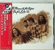 UICY 3365 JAPAN -The Mamas & The Papas -People Like Us CD (Sample/Promo) RARE