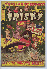 """FRISKY FABLES (Accepted) #43 - LB Cole - Classic story """"The Mad Artist"""""""