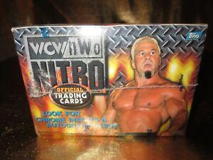 Wcw Nwo Nitro Wrestling 1999 Topps Hobby Wachs Schachtel Neu Fabrik Versiegelt