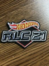 "NEW 2021 Hot Wheels RLC '21 3 1/2""x 2 1/4"" Patch Exclusive Red Line Club"