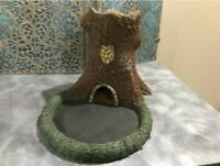 Natural Forest Druidic Dice Tower With Tray (RPG Dungeons and Dragons Warhammer)