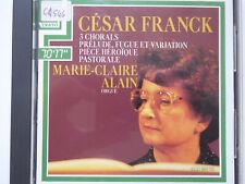 MARIE-CLAIRE ALAIN <>  Cesar Franck - 3 Chorals  et al  <> VG+ (CD)