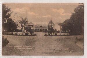 VINTAGE POSTCARD BOY'S GRAMMAR SCHOOL, MARYBOROUGH QLD 1900s