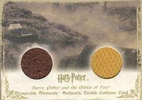 Harry Potter Memorable Moments Viktor Cedric Double Costume Card HP DC5 #036/275