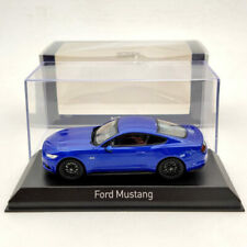 1/43 Norev Ford Mustang GT 2014/2015 Diecast Fluorescent Orange/Blue/Yellow