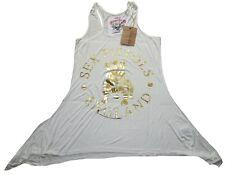 Amplified Official Sex Pistols BULL DOG DRESS Designer Tunica Maglietta Vestito Top L