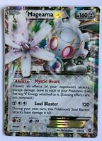 Magearna EX ULTRA RARE 75/114 XY Steam Siege Pokemon card TCG NM HOLO REAL
