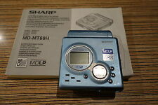 Sharp MT88 Minidisc Player / Recorder, (817) mit Anleitung