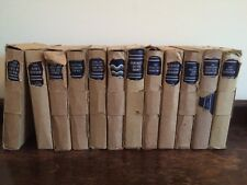 12 Vintage Odiham Press Books original boxed 1938 - Amazing condition