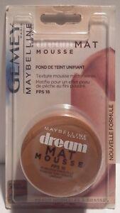Fond De Teint Dream Mat Mousse 50 Bronze Ensoleillé Gemey Maybelline New York