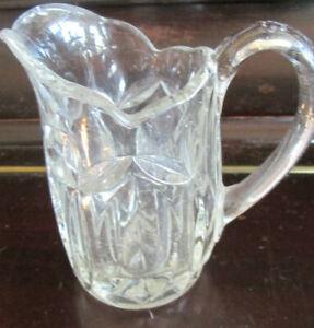 HEAVY GLASS MILK JUG