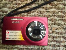 Kodak EasyShare  5X ZOOM M1093 IS 10.1MP Digital Camera - Red