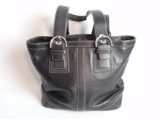 cc3cb08a09 Black Leather Coach Purse Handbag Authentic Soho Buckle Shoulder Bag Gently  Used