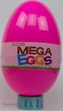 """Jumbo Easter Mega Pink Eggs Set of 3 Nestable Nesting 16"""" 12"""" 8"""" NWT"""