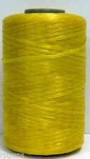SINEW / Sinue leather thread beading crafts Yellow