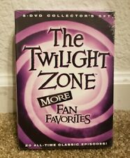 The Twilight Zone: More Fan Favorites (DVD, 2012, 5-Disc Set) Brand New.