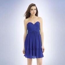Bill Levkoff Bridesmaid Dress 718 Prom Wedding Straples Sweetheart short Chiffon
