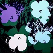 Flowers #64 (Sunday B. Morning), Silkscreen, Andy Warhol - with COA