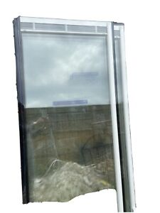 Double Glazed Glass Panels with Magnetic Blinds