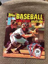 1982 Topps Baseball Sticker book unused Album GARY CARTER MONTREAL EXPOS