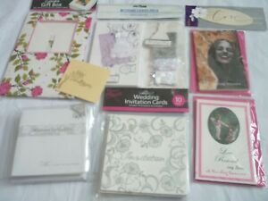 wedding pack job lot bundle cards invites diy invitation with love tags cupcake