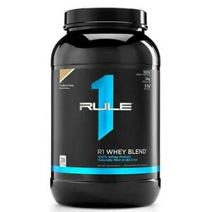 Rule1 R1 Whey Blend 896g Whey Protein Concentrate, Isolate & Hydrolyzed Isolate