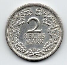 Germany - Duitsland - 2 Mark 1926 D