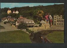 Hastings Model Village White Rock Gardens 1974   vintage  postcard qa.91
