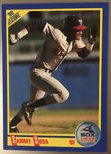 1990 Score #558 Sammy Sosa RC Rookie Chicago White Sox
