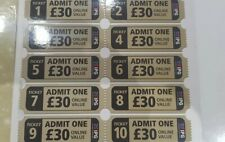 20 (10 paid) x IPG Paintball Tickets With 2000 Free Balls