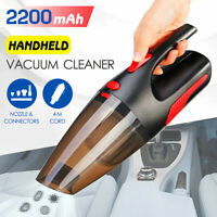 Car Vacuum Cleaner 12V 120W For Auto Portable Wet Dry Dirt Dust Handheld