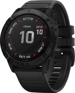 New Garmin - Fēnix 6X Pro Smartwatch 51mm Fiber-Reinforced Polymer 010-02157-00