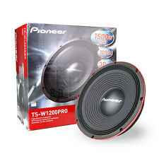 "Pioneer  TS-W1200PRO 12"" Pro Series Subwoofer wih Dual 4 Voice Coil 1500W"