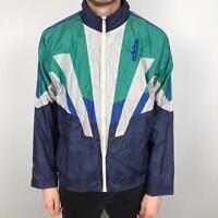 ADIDAS COUNTRY CLUB Vintage Leather Track Jacket Small Veste Survêtement Rare