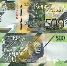 Kenya 500 Shillings 2019, UNC, P-New