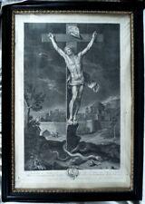 Belle Gravure de Nicolas Jean Baptiste de Poilly (1707-1780)/ ép. XVIIIè siècle