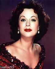 Photo Hedy Lamarr.  Papier Fugicolor format 20 X 25 (ref 1)